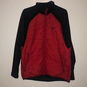 Nike thermal Puffer Jacket Black/Red L